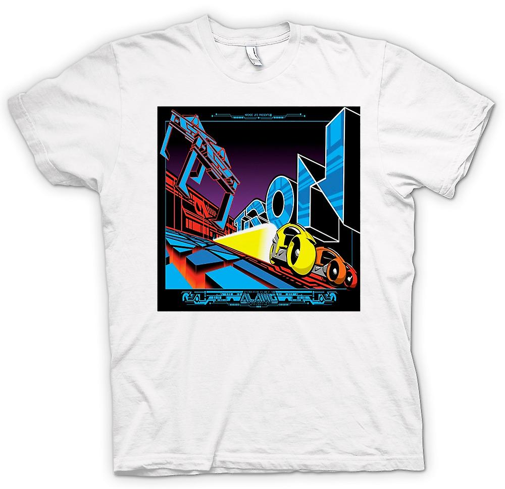 Womens T-shirt-Tron - Pop-Art - Cool B-Movie