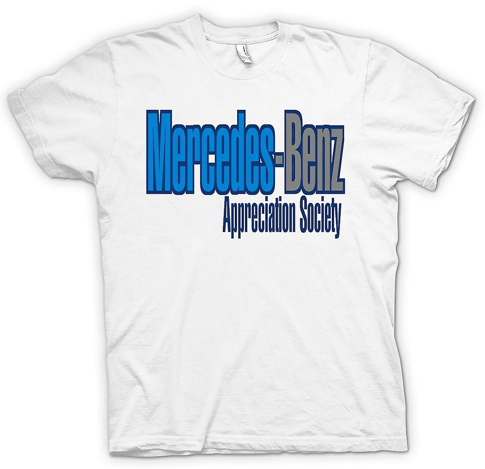 Heren T-shirt - Mercedes - Benz Appreciation Society