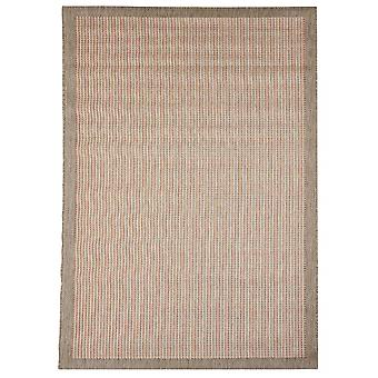Outdoor carpet for Terrace / balcony/red brown Essentials chrome Terra 200 / 290 cm carpet indoor / outdoor - for indoors and outdoors
