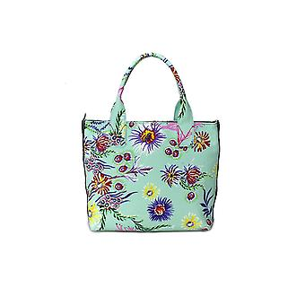 PINKO BAG CAPASANTA LIGHT GREEN SMALL