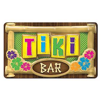 3D-plast Tiki Bar tegn