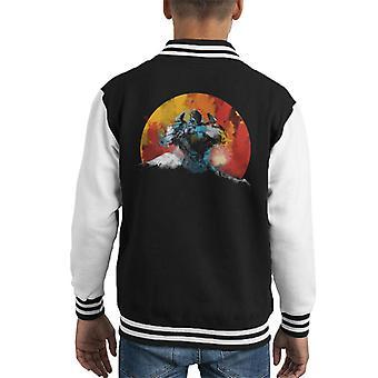 Pacific Rim Gipsy Tänzerin Mount Fuji Kid Varsity Jacket
