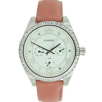 Fossil ladies watch wristwatch leather BQ1227