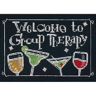 Group Therapy Mini Counted Cross Stitch Kit-7