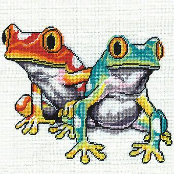 Frogs Needlepoint Kit-10