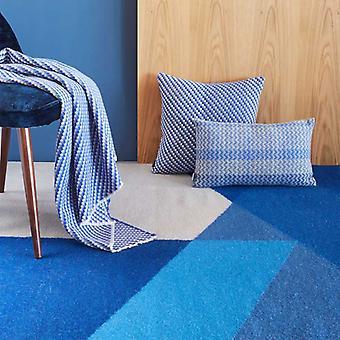Rugs -Claire Gaudion - Sark Coupeé Blue