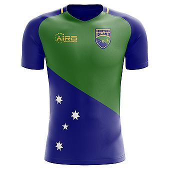 2018-2019 Christmas Islands Home Concept Football Shirt