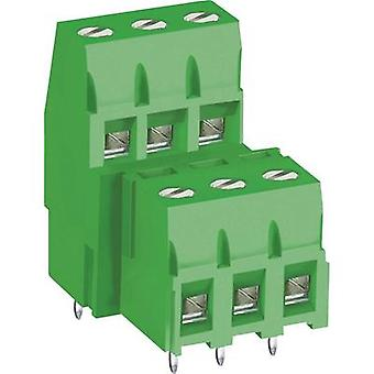 DECA MB360-500M10 Screw terminal 3.30 mm² Number of pins 10 Green 1 pc(s)