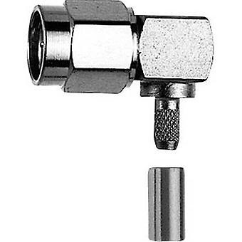SMA connector Plug, right angle 50 Ω Telegärtner J01150A0079