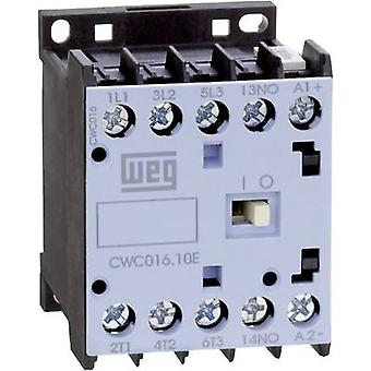 Contactor 1 pc(s) CWC07-01-30D24 WEG 3 makers 3 kW 230 V AC 7 A + auxiliary contact