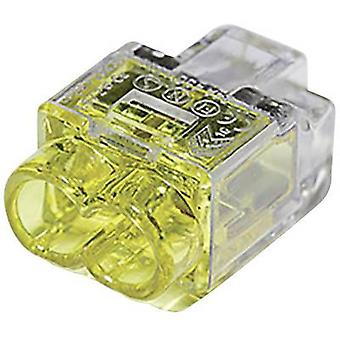 Connector clip flexible: 1-2.5 mm² rigid: 0.5-2.5 mm² Number of pins: 2
