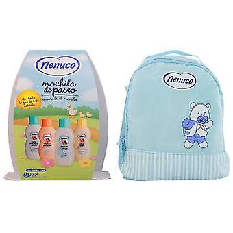 Nenuco Blue Backpack Pack 4 Pieces