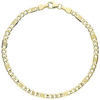 Armbånd Bangle armbånd gullet 333 klassiske ISOLA armbånd gullet 333