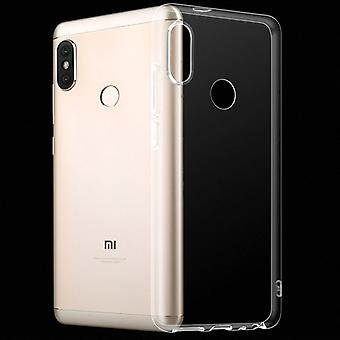 For Xiaomi MI A2 / MI 6 X Silikoncase TPU protection transparent bag case cover pouch accessories new