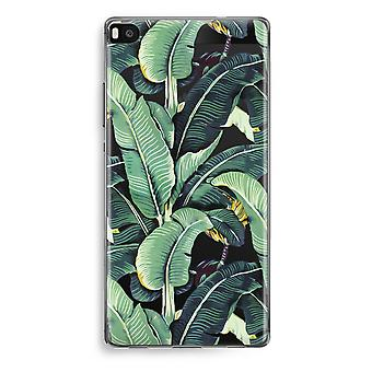 Huawei Ascend P8 Transparent Case (Soft) - Banana leaves