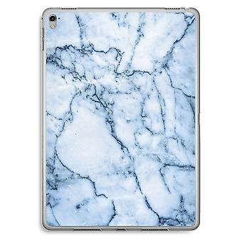 iPad Pro 9,7 pulgadas caja transparente (suave) - canica azul