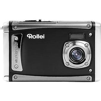 Rollei Sportsline 80 Digital camera 8 MPix Black Full HD Video, Shockproof, Underwater camera, Dustproof