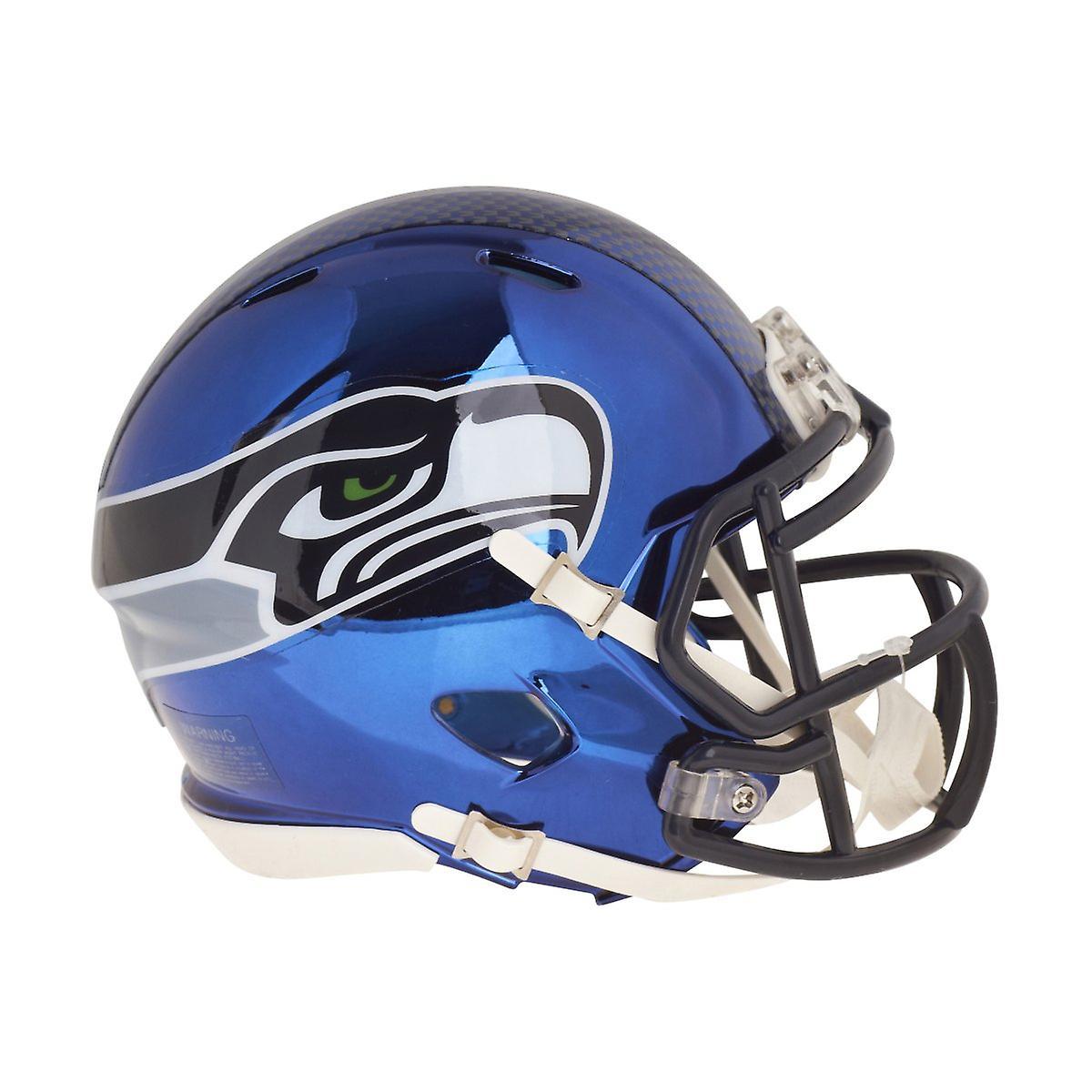 Riddell, capacete de futebol mini - NFL Seattle Seahawks CHROME