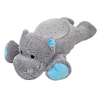 Twilight nachtlamp Projector Hippopotamo