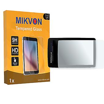 BMW Navigator 6 Screen Protector - Mikvon flexible Tempered Glass 9H (Retail Package with accessories)