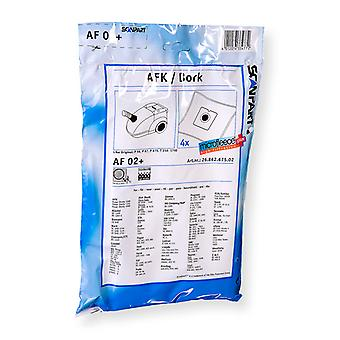 Scanpart Af02 en Microfleese Stofzak Afk/smc Micro