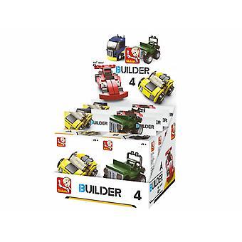 Sluban Builder 4 véhicules 8 PCs