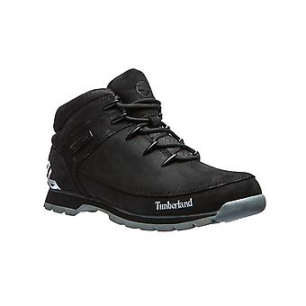 Timberland mens real leather boots euro Sprint hiker black