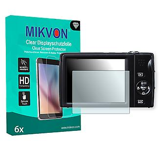 Fujifilm FinePix T510 Screen Protector - Mikvon Clear (Retail Package con accessori)