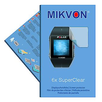 Polar V800 screen protector- Mikvon films SuperClear (reduced foil)