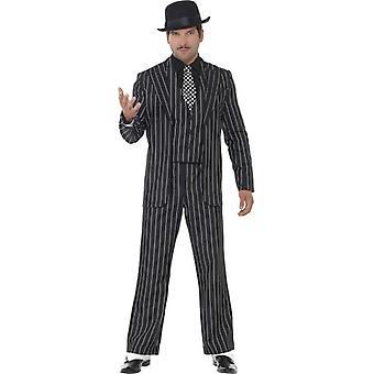 Vintage Gangster Boss Costume, Chest 46