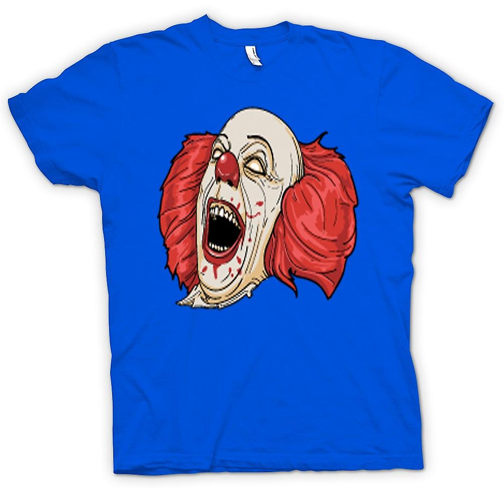 Mens T-shirt-Stephen King's es Pennywise Portrait