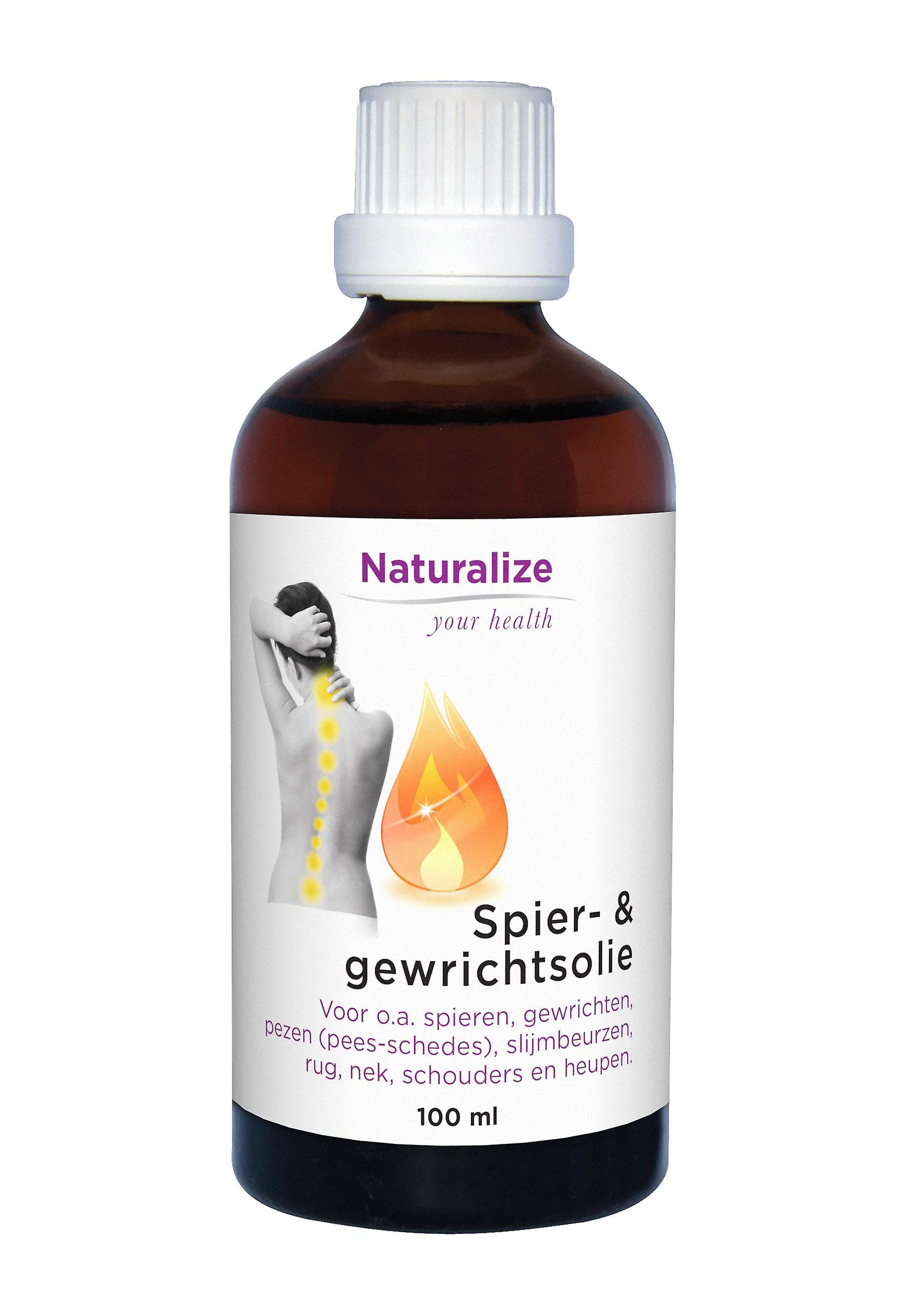 Naturalize Muscle-& joint oil (100 milliliter)