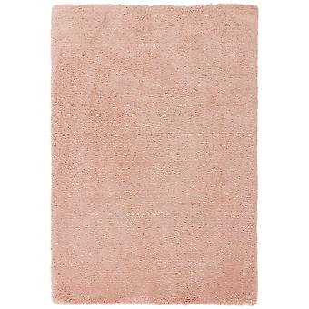 Lulu Shaggy Rugs In Pink