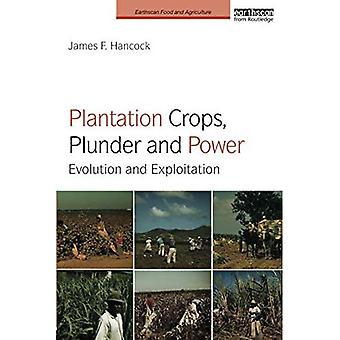 Plantation Crops, Plunder and Power: Evolution and exploitation - Earthscan Food and Agriculture