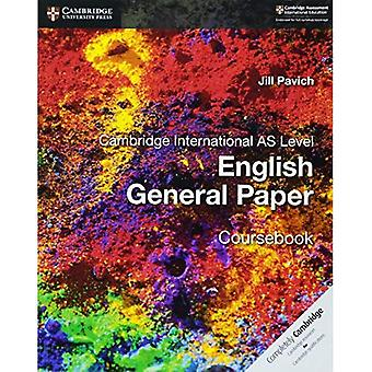 Cambridge International AS Level Englisch General Papier Lehrbuch