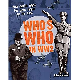 Who's Who in Ww2. Alison Hawes