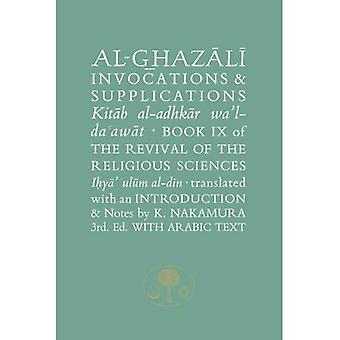 Al-Ghazali Invocations  ; Supplications
