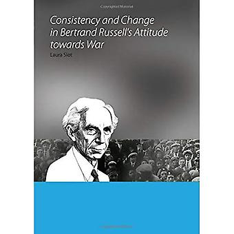 Consistency and Change in Bertrand Russell�s Attitude Towards War