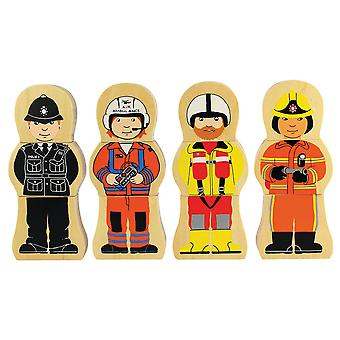 Bigjigs Toys People Who Help Us Magnetic Wooden Jigsaw Puzzle
