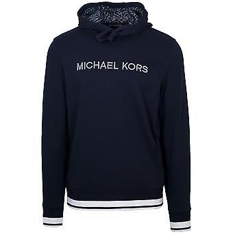 Michael Kors  Michael Kors Navy Hooded Sweatshirt