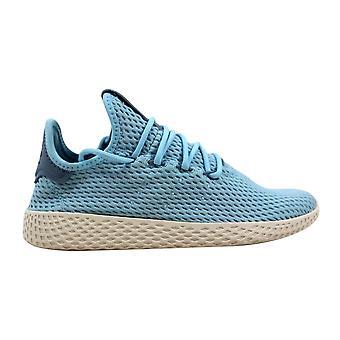 Adidas Pharrell Williams Tennis Hu J Ocean Blue/White CP9802 Grade-School