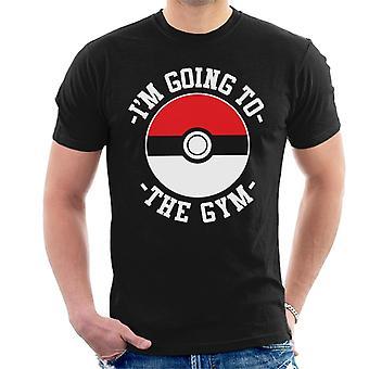 Im Going To The Gym Pokemon Men's T-Shirt