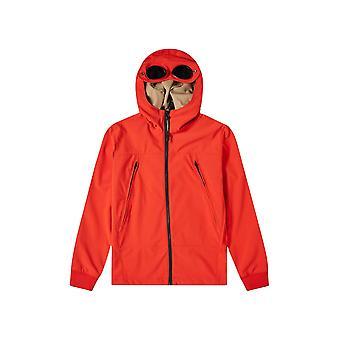 C.P. Undersixteen К.П. Компания Undersixteen Красная мягкая куртка Goggle