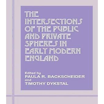 The Intersections of the Public and Private Spheres in Early Modern England by Backscheider & Paula R.