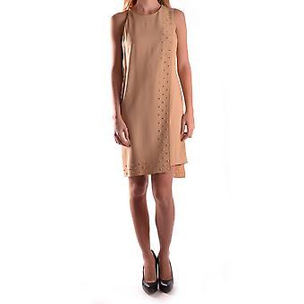 Versace Beige acetat klänning