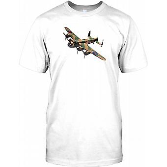Lancaster Bomber - WW2 Aircraft Mens T Shirt