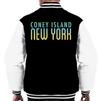 Coney Island New York Men's Varsity Jacket