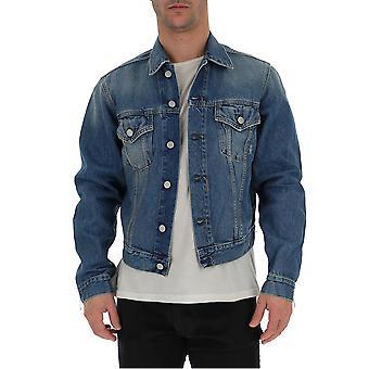 Acne Studios Blue Denim Outerwear Jacket