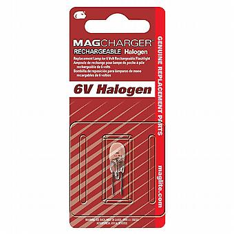 Maglite 6v halogen bulb - Mag Charger system - Latest version - Genuine Maglite