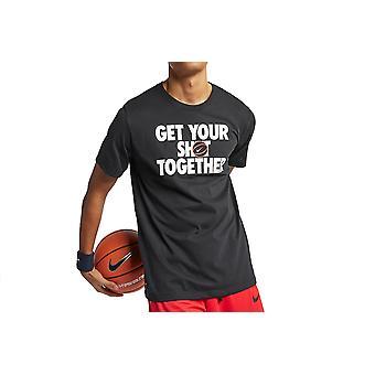 Nike krijg je shot Tee AJ9585-010 mens T-shirt